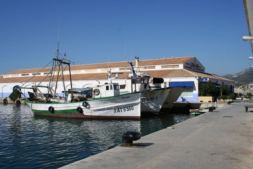 Accesos a la Lloja y puerto de Calpe