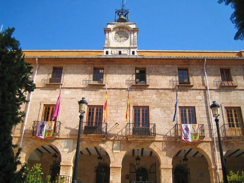 Edificio del Ayuntamiento de Denia