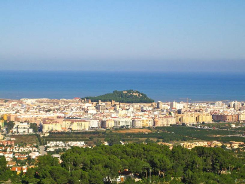 Denia y su castillo, comarca de Marina Alta