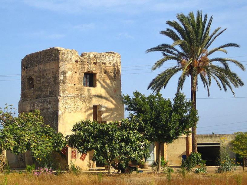 Torre Cremadella en el Vergel