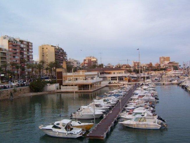 Embarcaciones del Club Naútico de Torrevieja