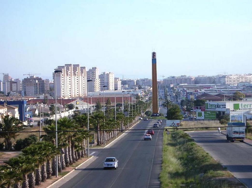 Accesos a la ciudad de Torrevieja
