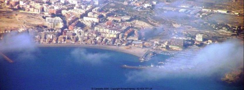 Vista aérea de Campello