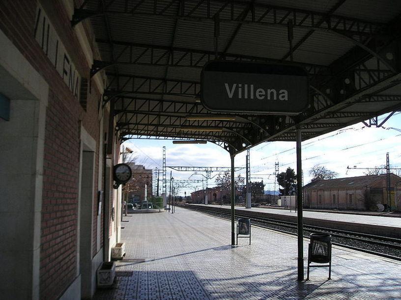 Estación de adif, Villena