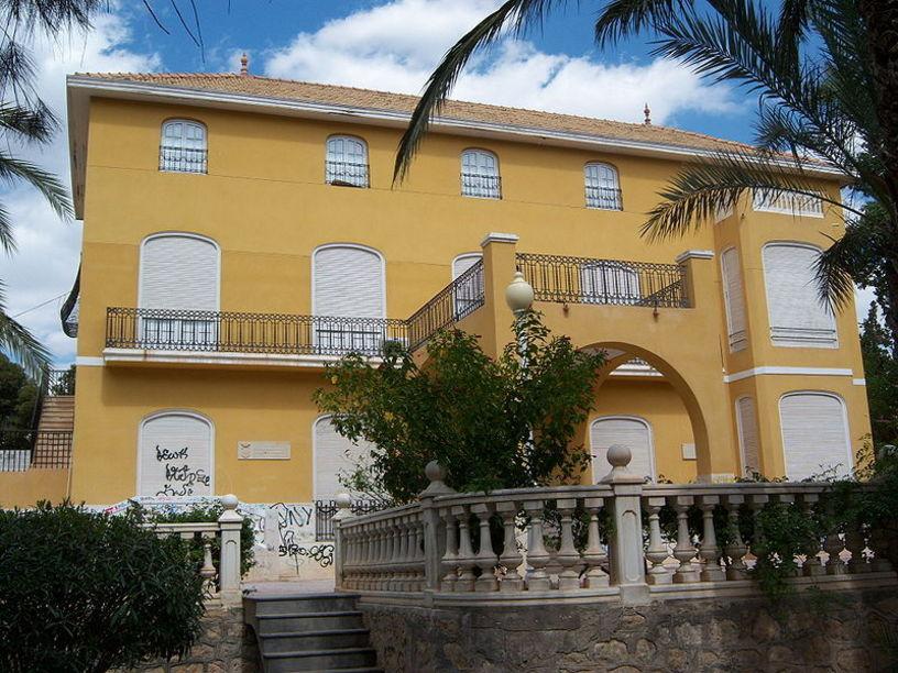 Casa del parque situada en el casco urbano de Crevillente