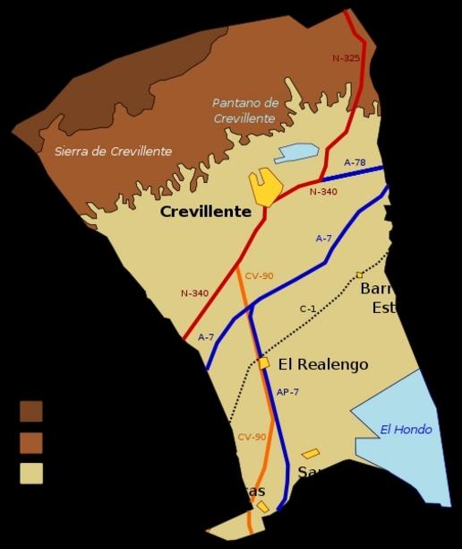 Término municipal de Crevillente