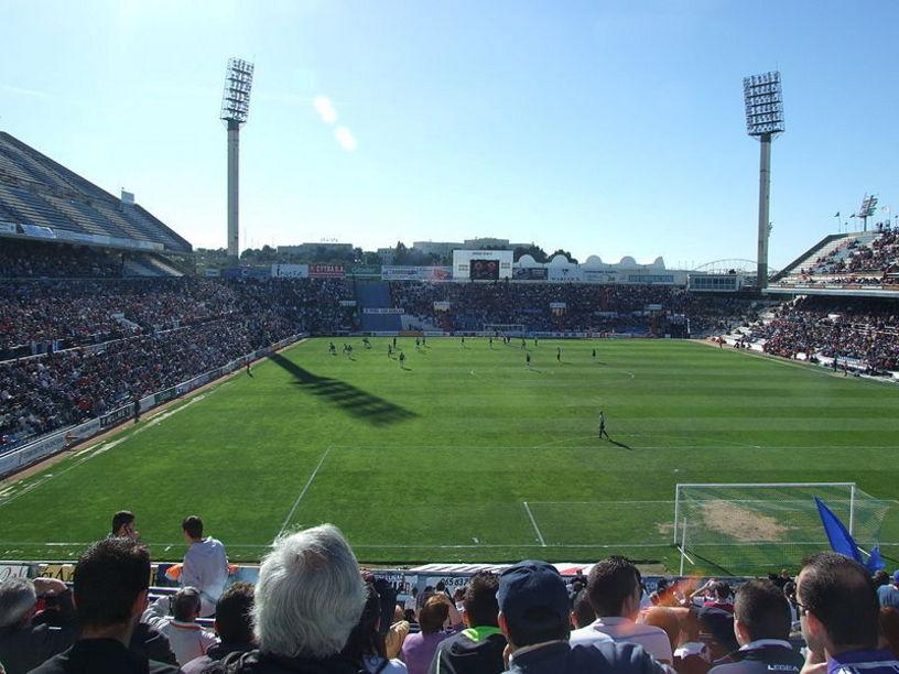 Estadio Martínez Valero, sede del equipo de fútbol del Elche CF.