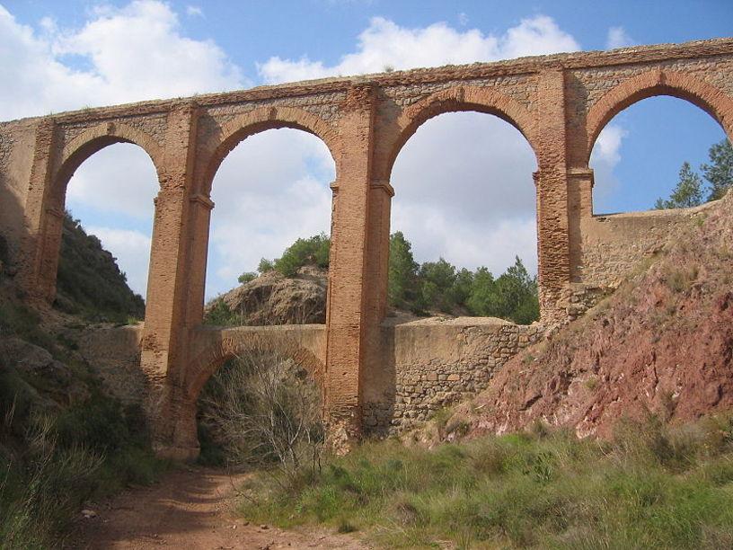 Reconstrucción del Puente de los 5 puntos en Aspe