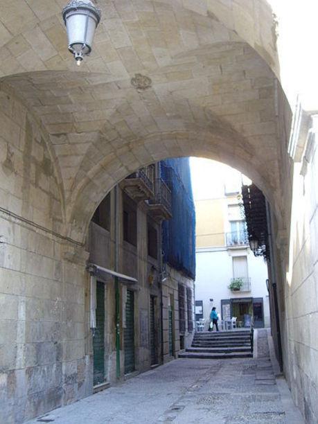 Calles aledañas al ayuntamiento de Alicante