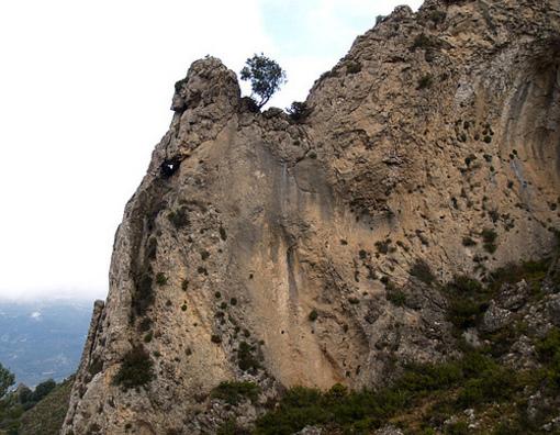 Sierra serralla dentro del Parque Natural Mariola