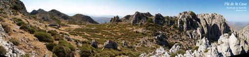 Rutas hacia la cima de la Serella