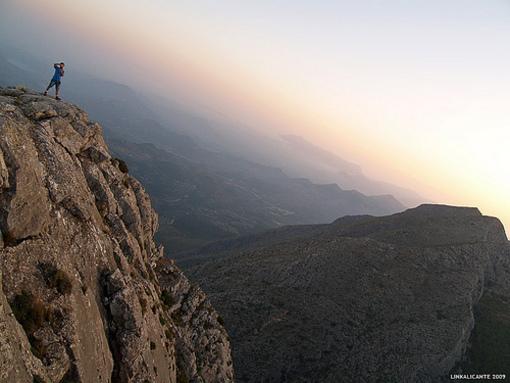 Cima de la Sierra Aitana