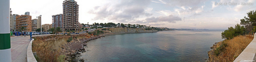 Playa de Cantal en Calpe