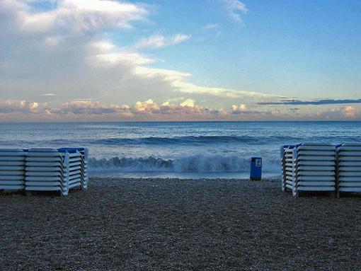 Accesos a la playa de Albir