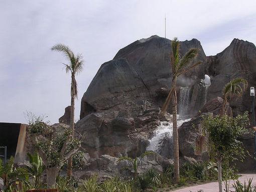 Volcán de Terra Natura en Benidrom