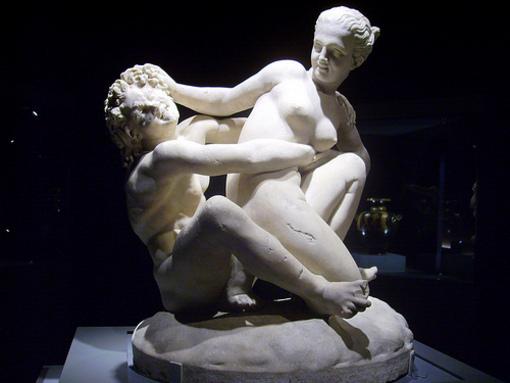 Imágenes de la cultura griega del siglo I y II a.c en el Marq, Alicante