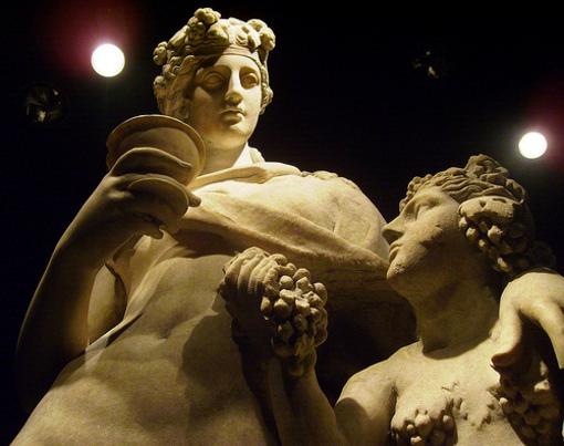 Escultura de Dionisio en el Marq, Alicante
