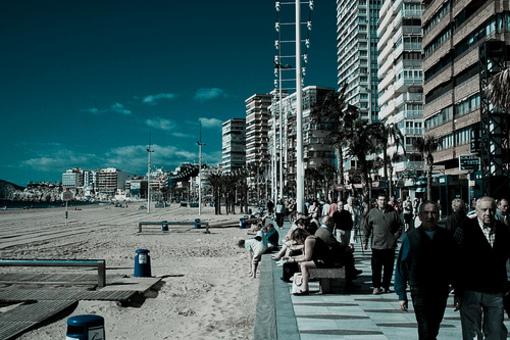Paseo por las playas de Levante en Bendorm