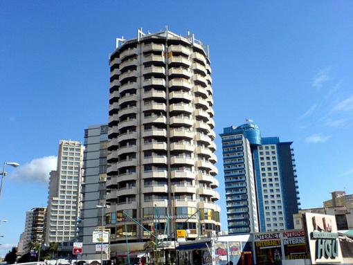 Edificios en la ciudad de Benidorm