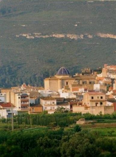 Yátova, municipio situado en la comarca de la Hoya de Buñol.