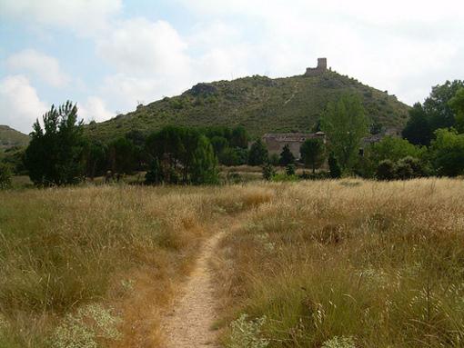 Restos del Castillo en Bañeres