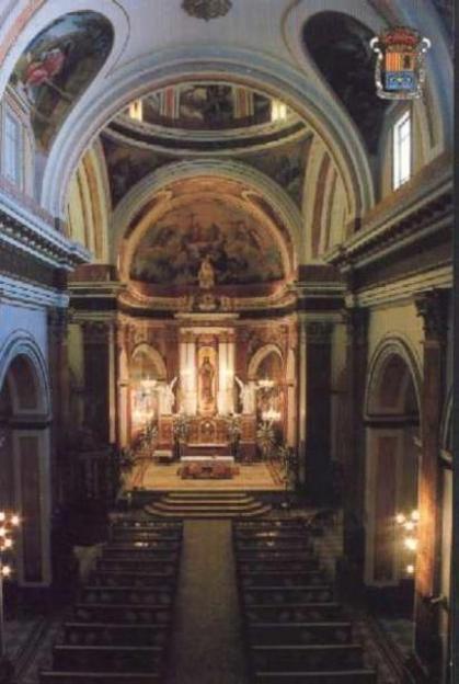iglesia parroquial del Santísimo Sacramento Almacera