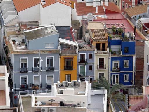 Casco antiguo de la ciudad de Alicante