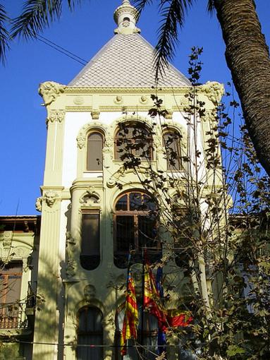 Edificio modernista de la ciudad de Alicante