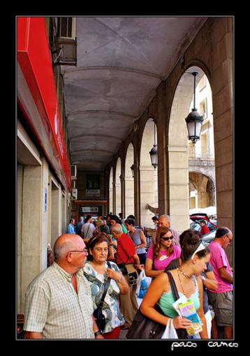Mercadillo un domingo por la mañana en Alicante