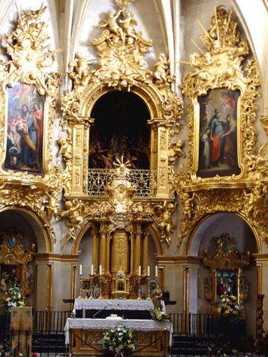 Altar mayor de la Iglesia Santa Maria