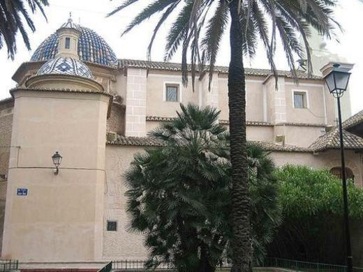 Vista lateral de la Ermita Burjassot