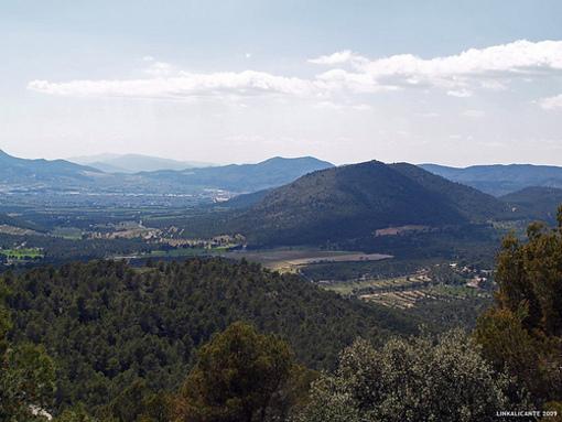 Vistas desde el Parque el Carrascal de la Font Roja