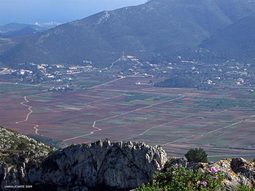Vista del poblado de Pedreguer