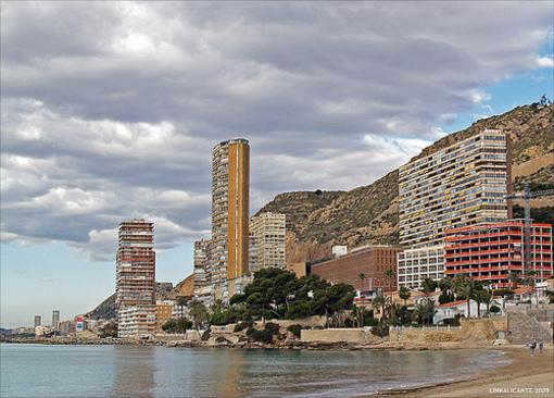 Barrio la Albufereta y sus playas en Alicante