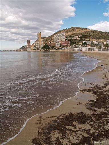 Localizacion del Cabo de las Huertas en Alicante
