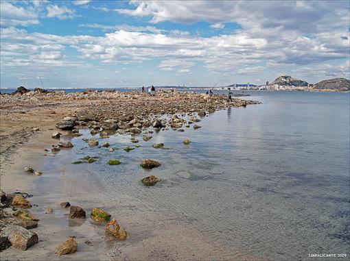 Terreno pedregoso de el Cabo de las Huertas