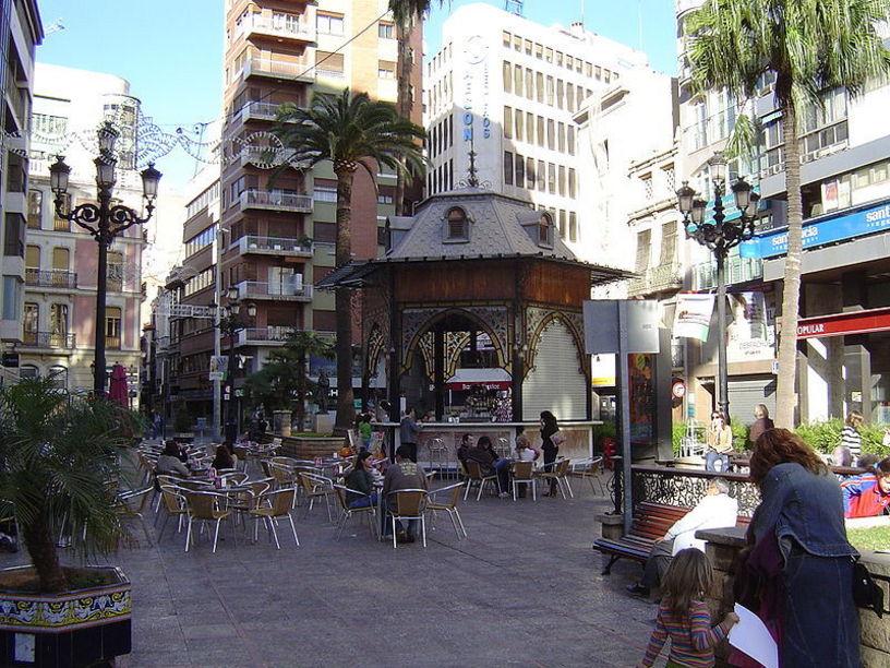 Plaza de la Paz en Castellón de la Plana