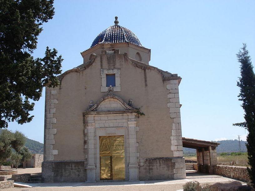 Fatxada de l'ermita del Calvari
