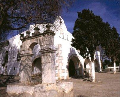 Vista lateral de la Ermita de San Gregorio en Benicarló