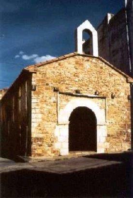 Vista de la Ermita de los Santos Juanes en Albocácer
