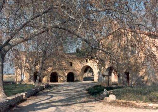 Ermita hospedería de San Pablo en el término municipal de Albocácer
