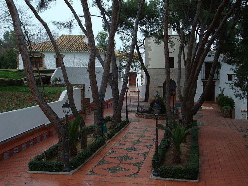 Vista del paraje de la ermita de la Virgen de Gracia, en Villareal