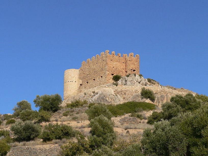 Fortificaciones del Castillo de Alclatén en Alcora