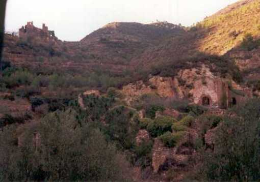 Restos del Castillo de Alcudia de Veo