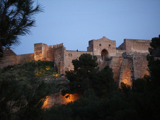 Vista del Castillo de Almanara