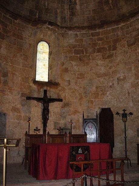 Capilla dins del Castillo de Peníscola