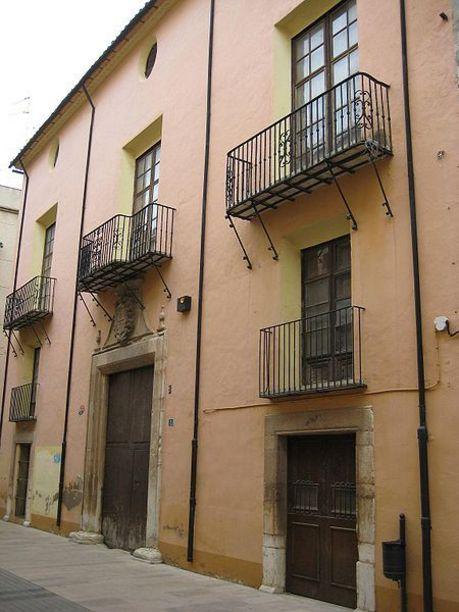 Vista de la Casa del marqués de Benicarló