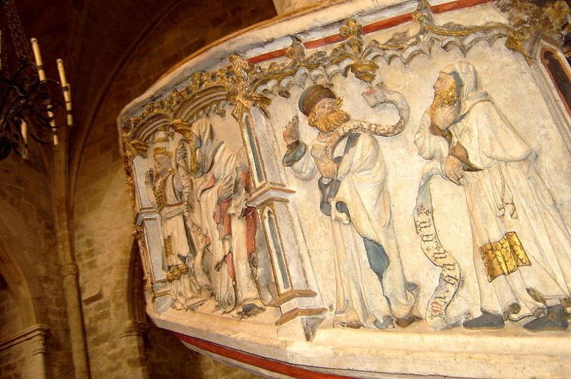 Pulpito de la Iglesia de Santa Maria de Morella