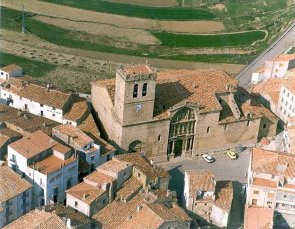 Vista de la Iglesia de la Asunción de Nuestra Señora de Vistabella del Maestrazgo