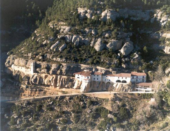 Ermita- cueva  de la Virgen Zorita del Maestrazgo